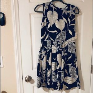 NWT Navy Fit and Flare
